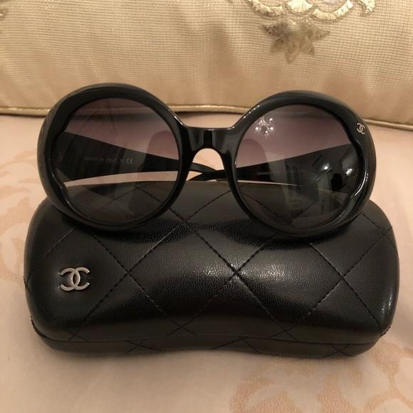 d9dd99c7c4e CHANEL Accessories - Chanel round sunglasses